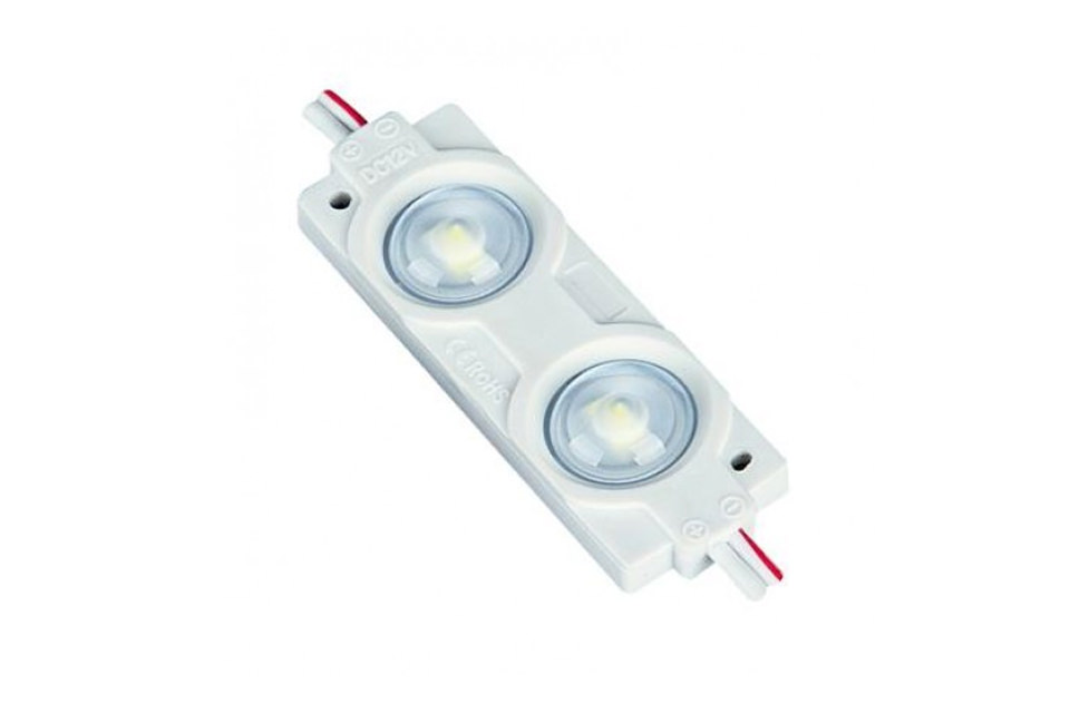 LBY 2835/2LED WHITE линза (IP65 / 0,72W) ОТ 30 Р./ШТ.