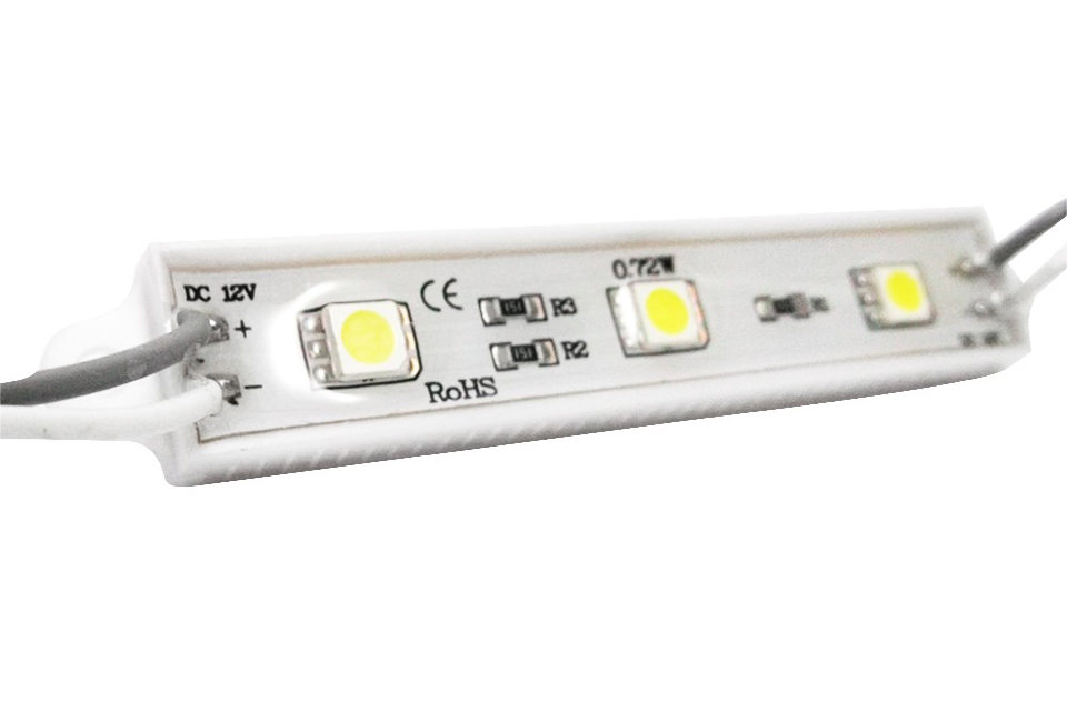 LBY 2835 / 3 LED WHITE (IP65 / 0,65 W) ОТ 30 Р./ШТ.