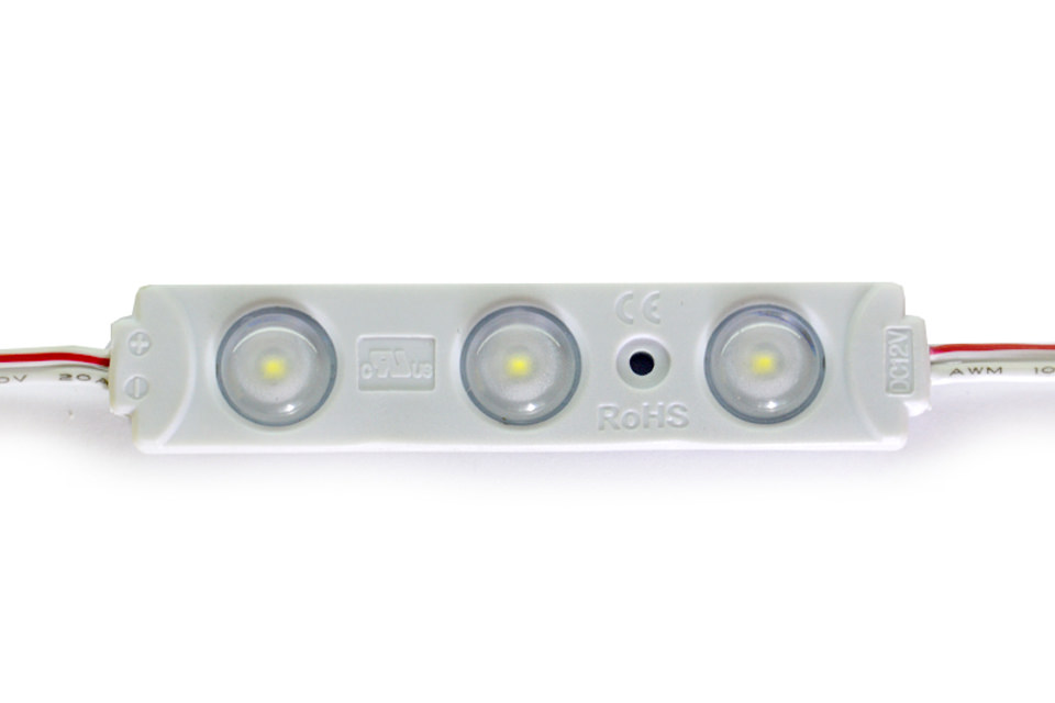LBY 2835 / 3  LED White линза (IP65 / 0,72 W) #5556 ОТ 35 Р./ШТ.